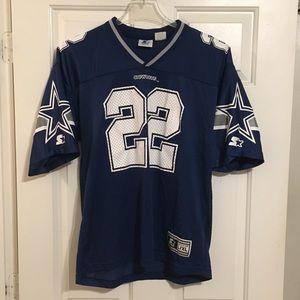 Vtg '95 Emmitt Smith Dallas Cowboys Jersey Sz L